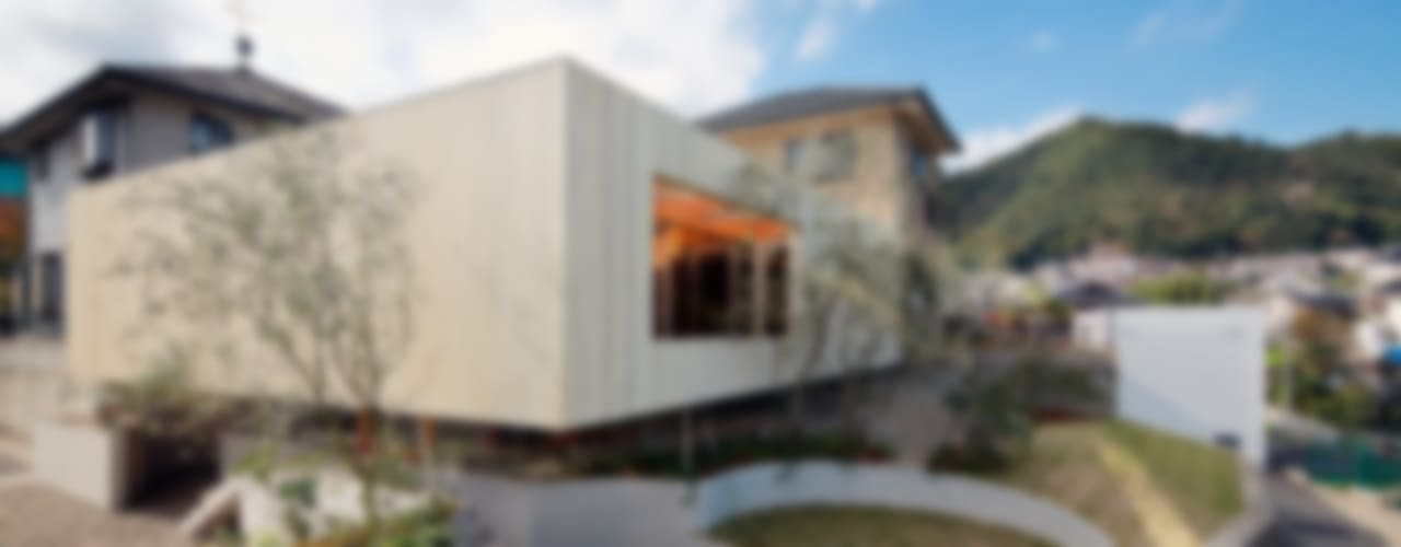 Pit house Modern houses by UID Modern