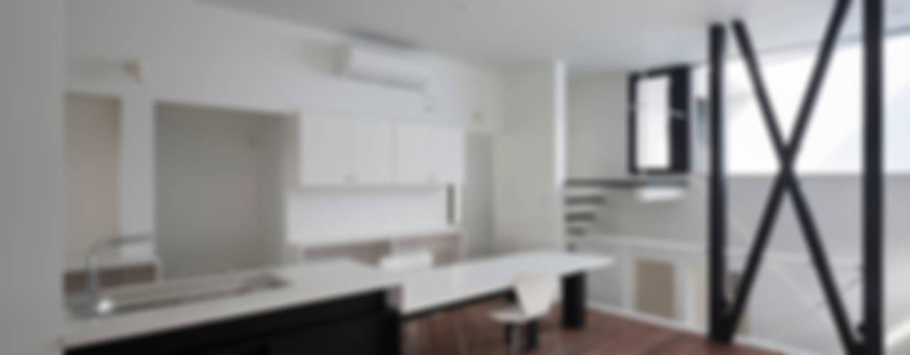 ハコノオウチ06 モダンな キッチン の 石川淳建築設計事務所 モダン