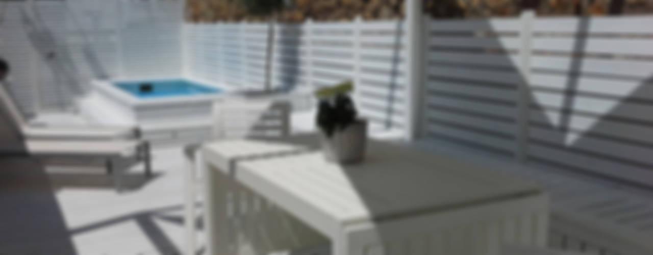 Balkon, Beranda & Teras Gaya Mediteran Oleh Vicente Galve Studio Mediteran
