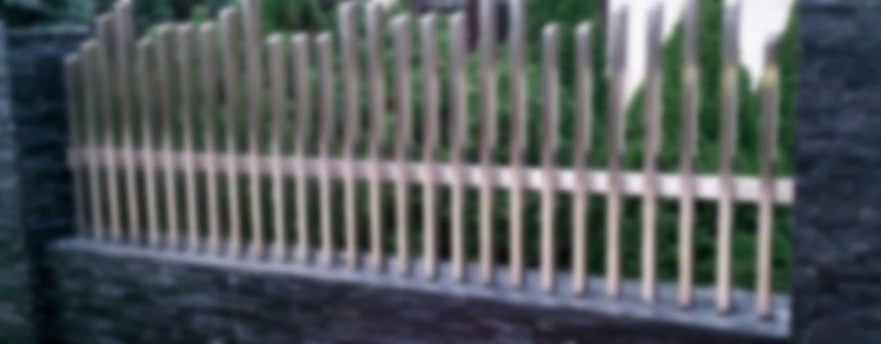 Ogrodzenia nierdzewne od Armet Minimalistyczny