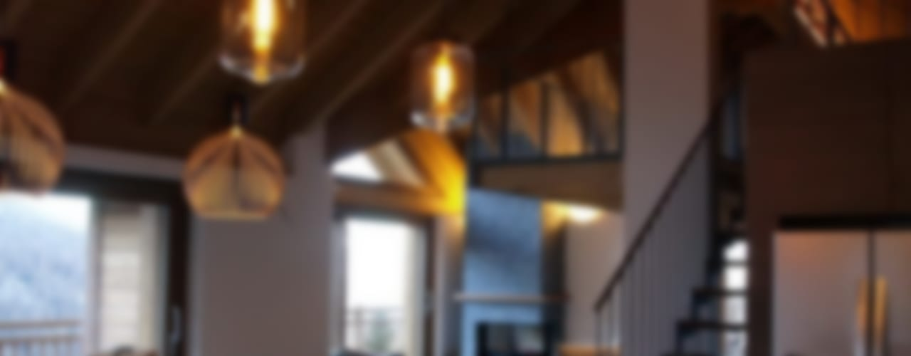chalet in Chamois di enrico girardi architetto Rustico