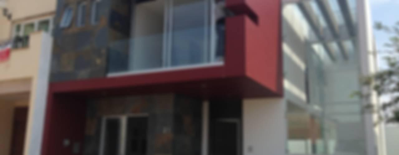 Casas modernas de Arki3d Moderno