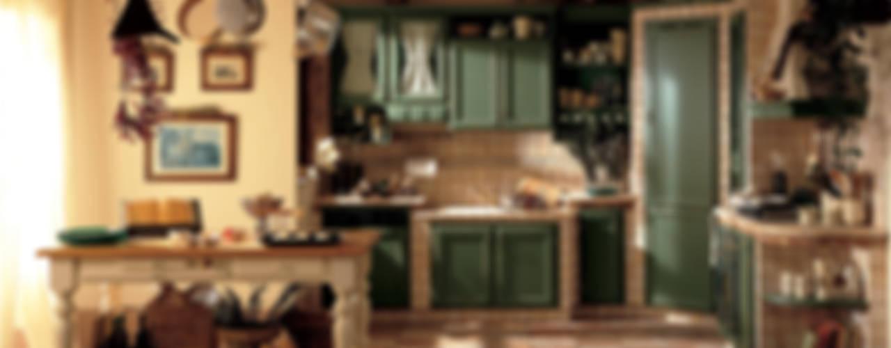 rustic  by Perimetro Cucine, Rustic