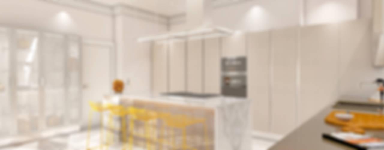 Trendy żółte Kuchnie