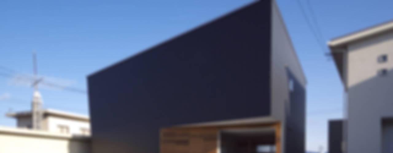 トンガリ壁の家: C lab.タカセモトヒデ建築設計が手掛けた家です。,オリジナル