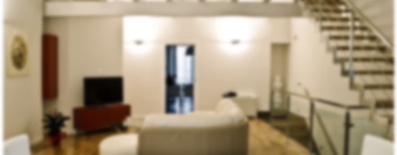 Residenza privata 2 Soggiorno moderno di Ignazio Buscio Architetto Moderno