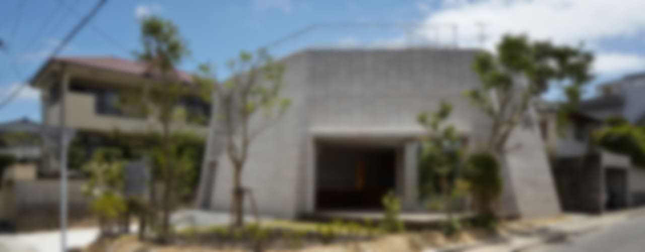 SHIRASU Modern houses by ARAY Architecture Modern