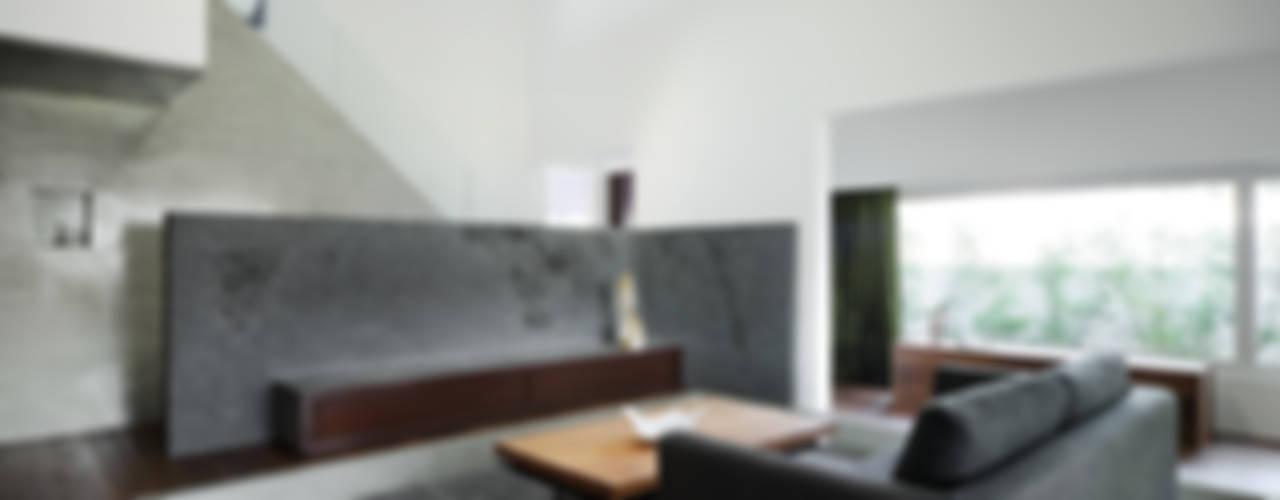 House of Representation モダンデザインの リビング の Form / Koichi Kimura Architects モダン