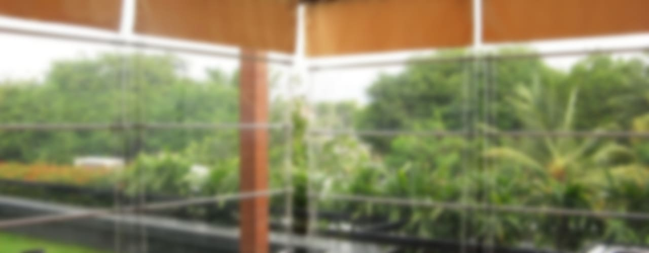 Weather Blinds, Transparent Monsoon Blinds by Louverline Blinds