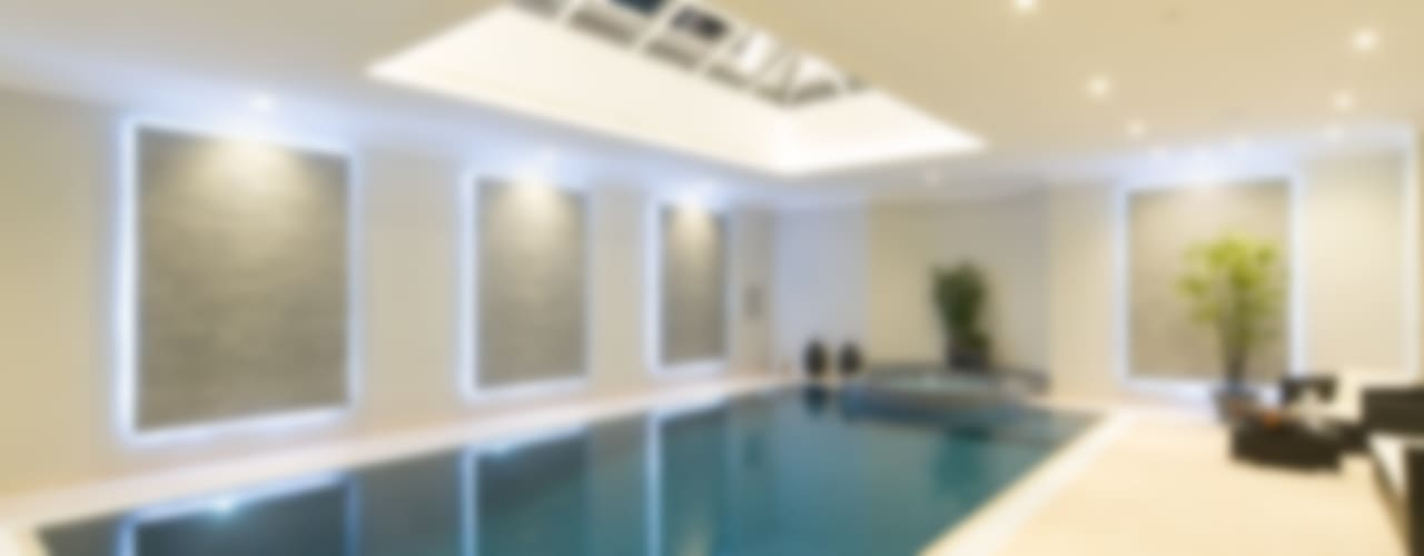Flairlight Project 1 Oxshott, Tudor House Modern pool by Flairlight Designs Ltd Modern
