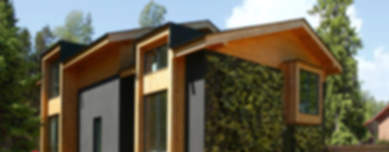 Skandinavische Häuser von Snegiri Architects Skandinavisch