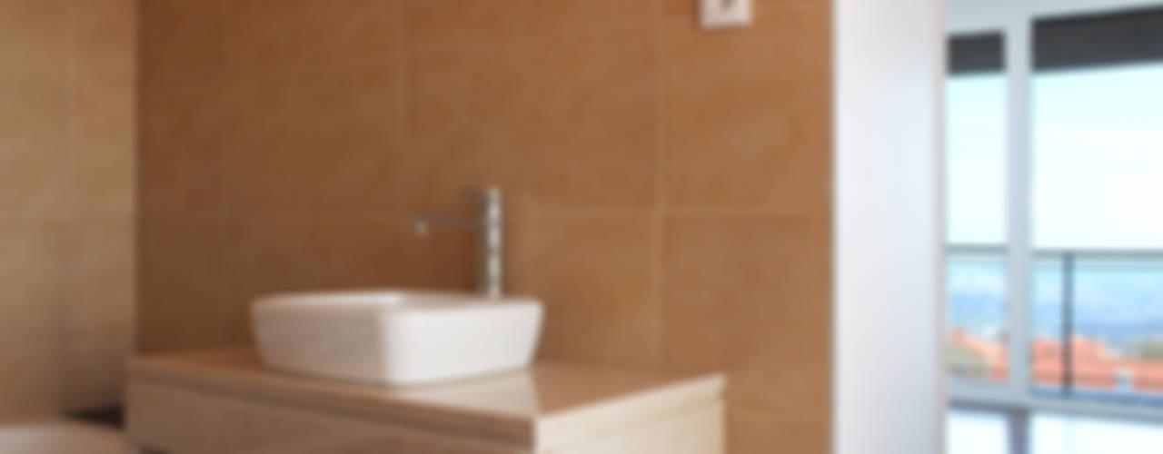 HOUSE L911 Дома в стиле модерн от Estúdio AMATAM Модерн