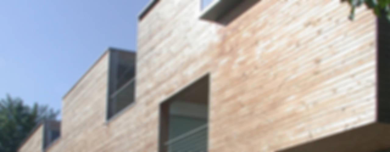 case Bircat Case in stile minimalista di Cattaneo Brindelli architetti associati Minimalista
