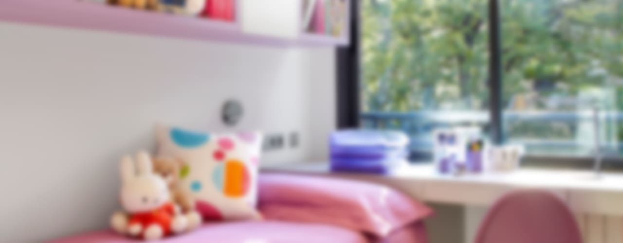 interiorismo infantil Dormitorios infantiles de estilo moderno de Molins Design Moderno