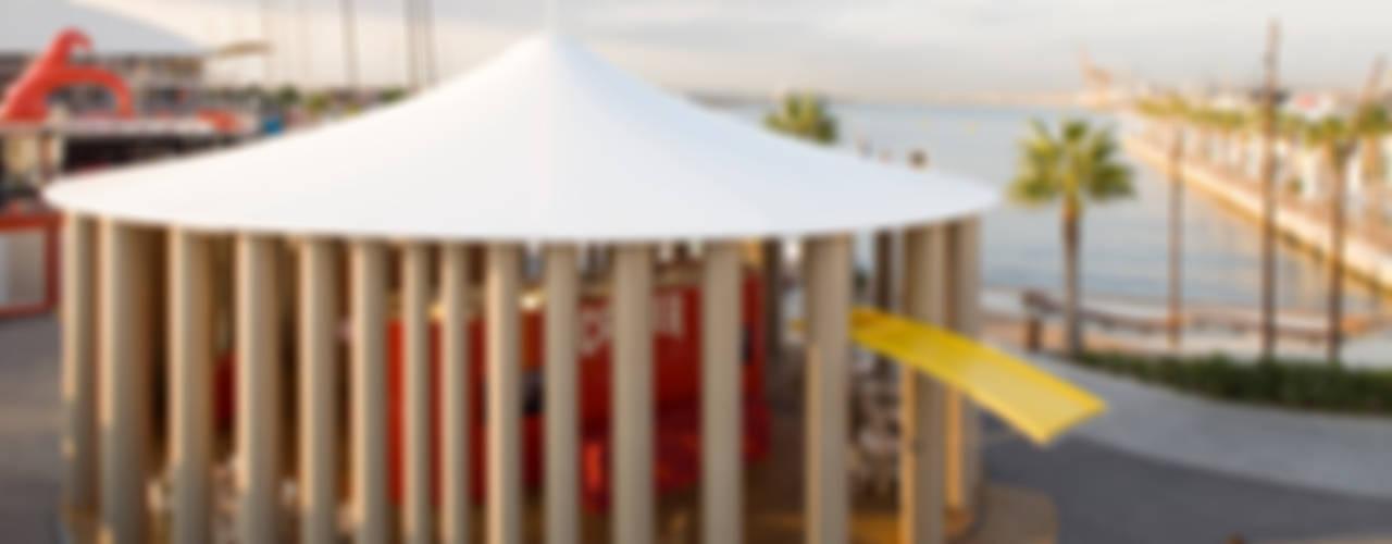 Camper Pavilion di 坂茂建築設計 (Shigeru Ban Architects)