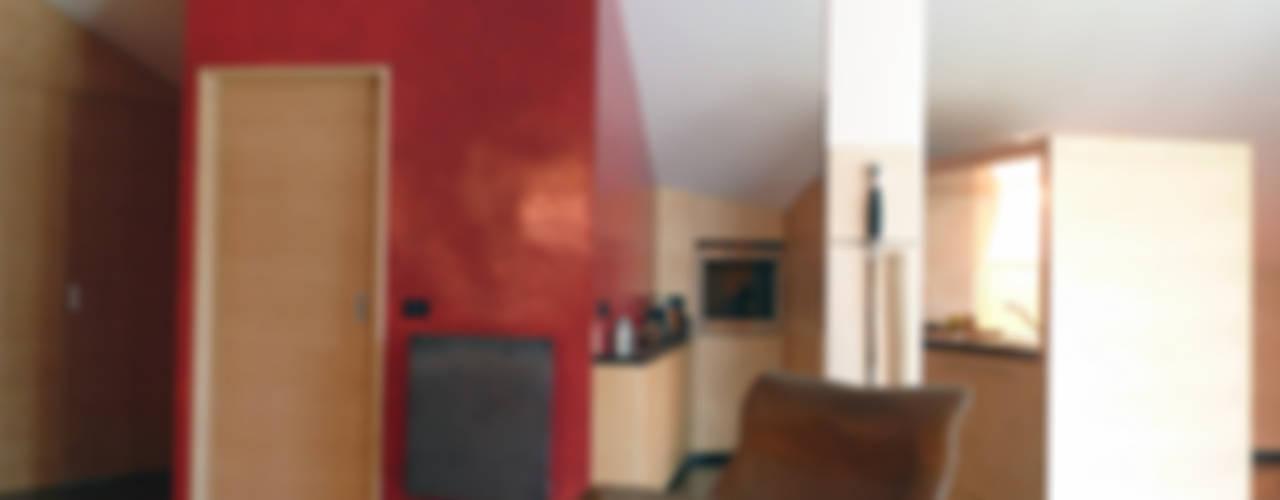 Conversione di un sottotetto non abitabile in mansarda Michele Valtorta Architettura
