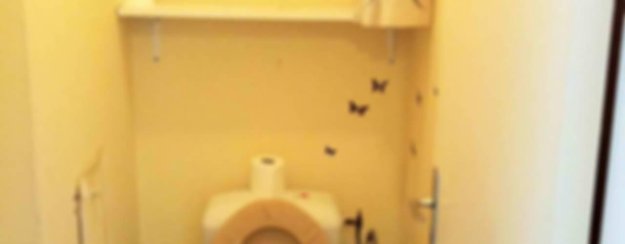 Appartement contemporain - 75010 Salle de bain moderne par Espaces à Rêver Moderne