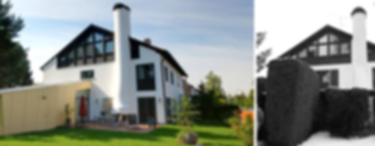 Sanierung und Erweiterung Doppelhaushälfte Mangfallstraße in München Moderne Häuser von Planungsbüro Schilling Modern