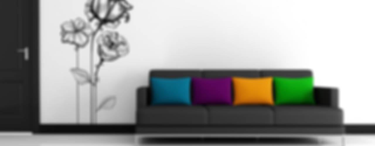Vinilos con Arte Modern living room