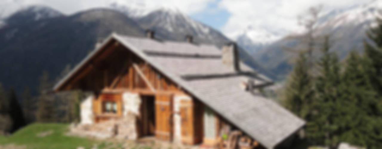 Maisons rustiques par zanella architettura Rustique