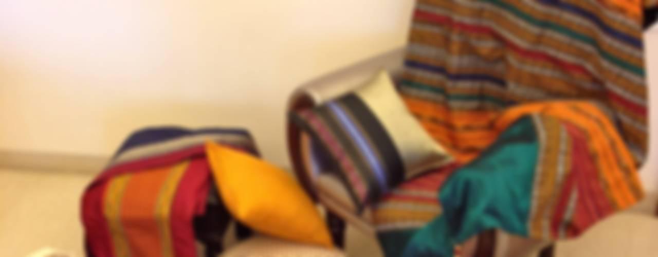 Intriguing Ikats :   by TUNI Interiors Pvt. Ltd.