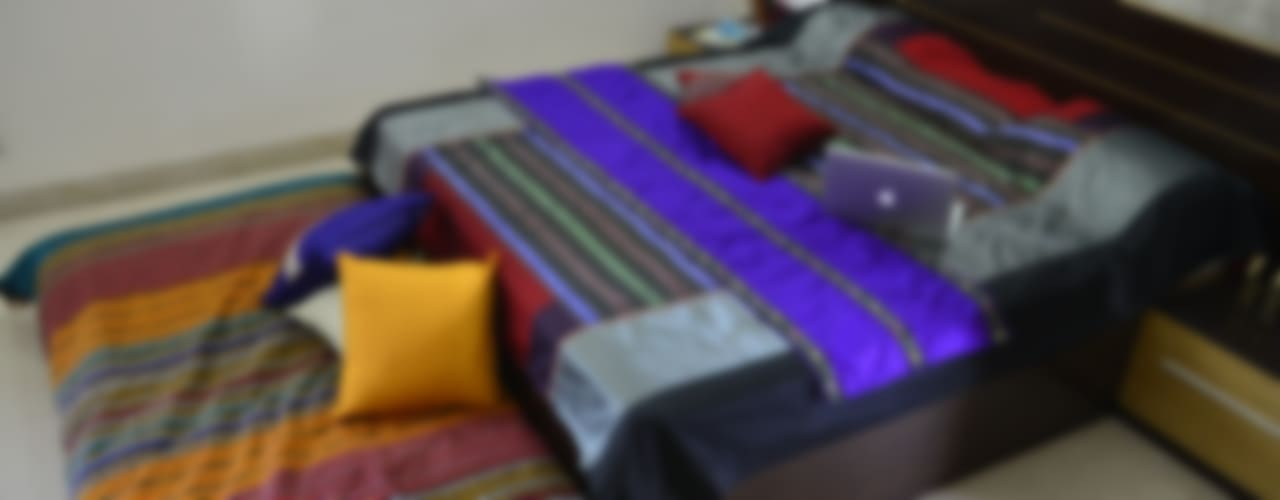 Intriguing Ikats: asian  by TUNI Interiors Pvt. Ltd. ,Asian