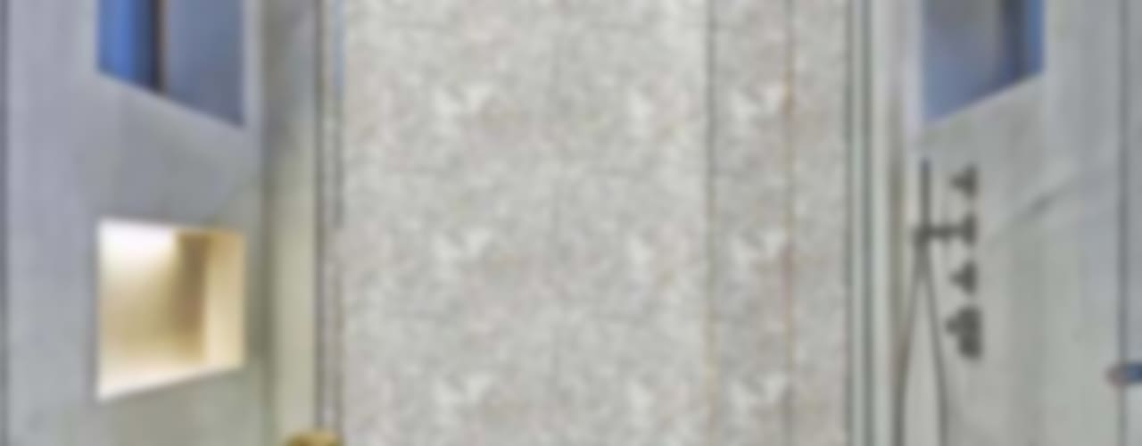 Mother Of Pearl Shower Wall: modern  by Stonesmiths - Redefining Stone-Age,Modern