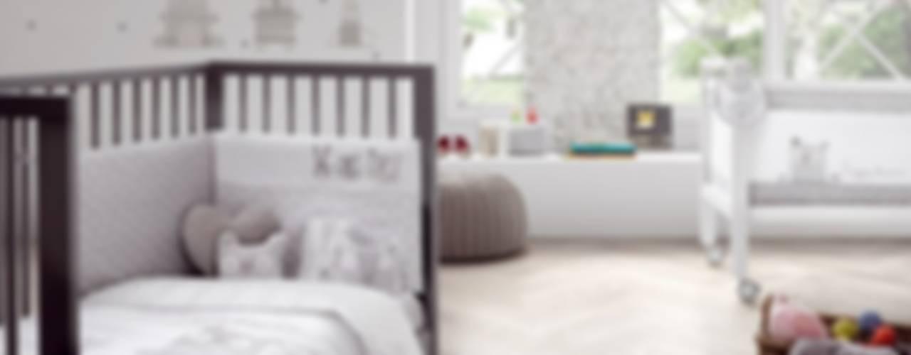 Baby bedding Bobo, Modern Çocuk Odası Carmen homify Modern
