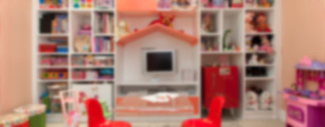 Chambre d'enfant moderne par Orlane Santos Arquitetura Moderne