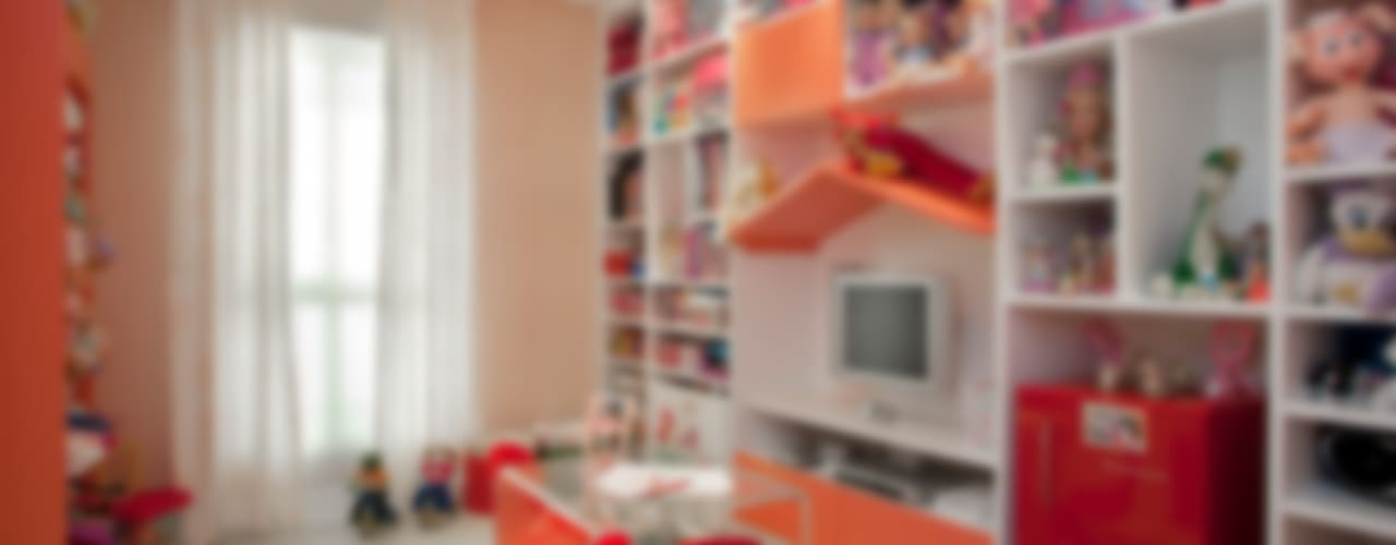 Girl's Playroom: Quarto infantil  por Orlane Santos Arquitetura