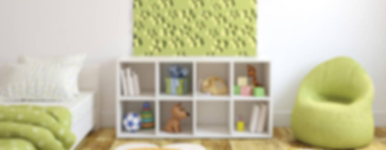 Modern nursery/kids room by Loft Design System Deutschland - Wandpaneele aus Bayern Modern