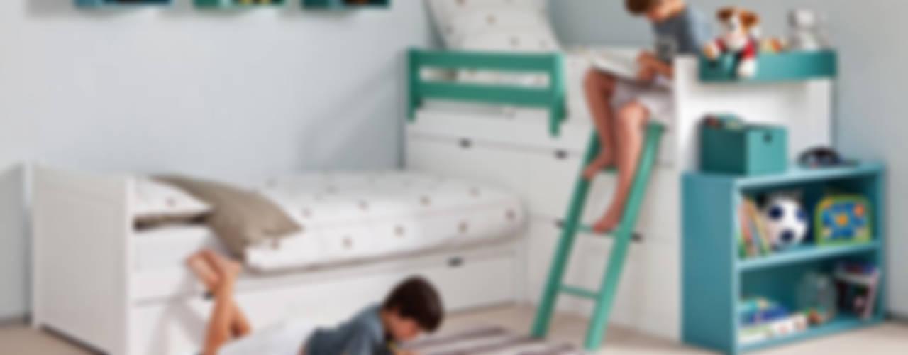 Chambre d'enfant de style  par Sofás Camas Cruces, Moderne