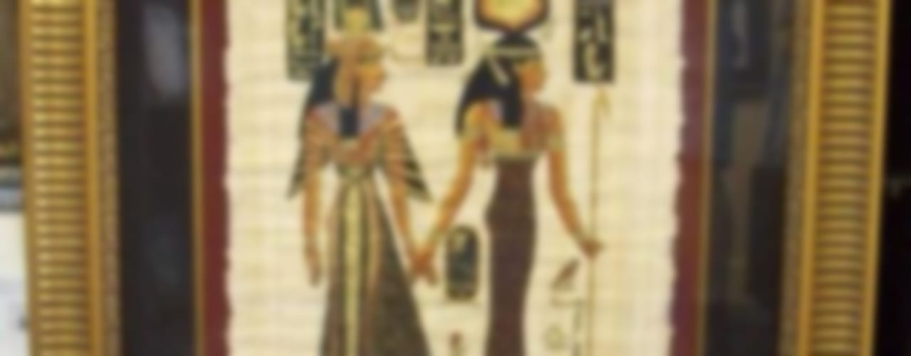 ORIGINAL EGYPTIAN PAPYRUS PAINTINGS:   by SHEEVIA  INTERIOR CONCEPTS