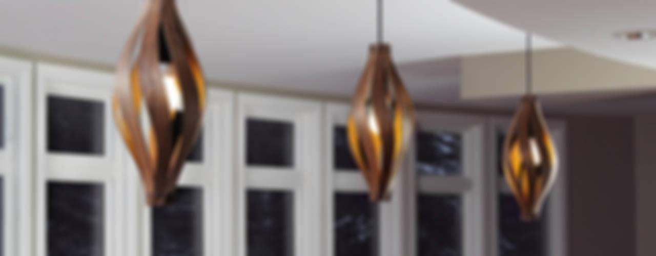 Cocoon Pendant light: modern  by MacMaster Design, Modern
