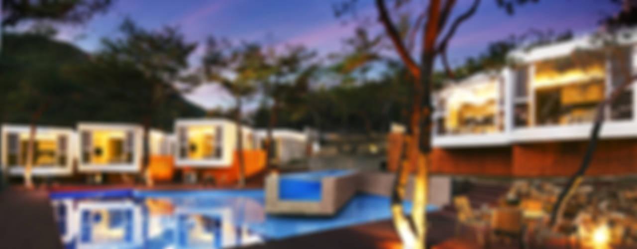 N GLASS POOLVILLA  : 나무티엠(주)의  상업 공간