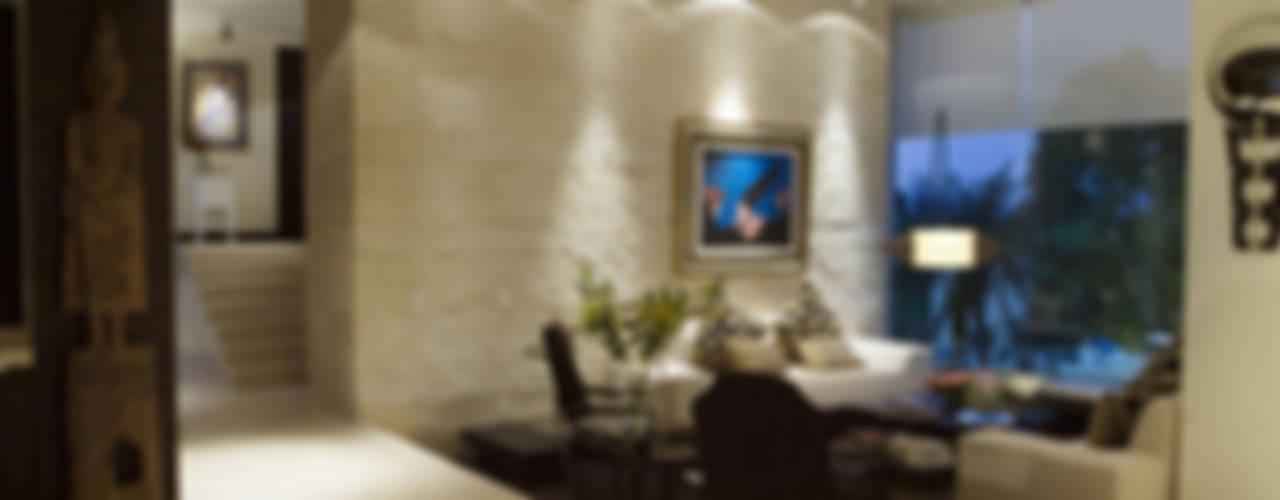 Sauces House Living room by ARCO Arquitectura Contemporánea