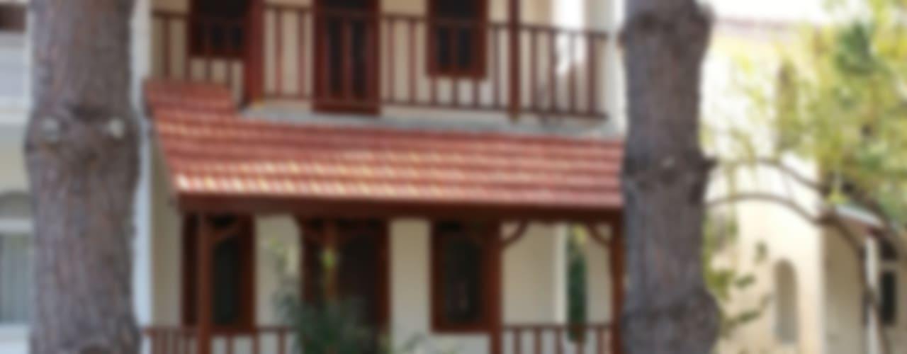 EDMİMARLIK INTERIOR STUDIO – AYVALIK ALTINOVA VİLLA:  tarz Evler