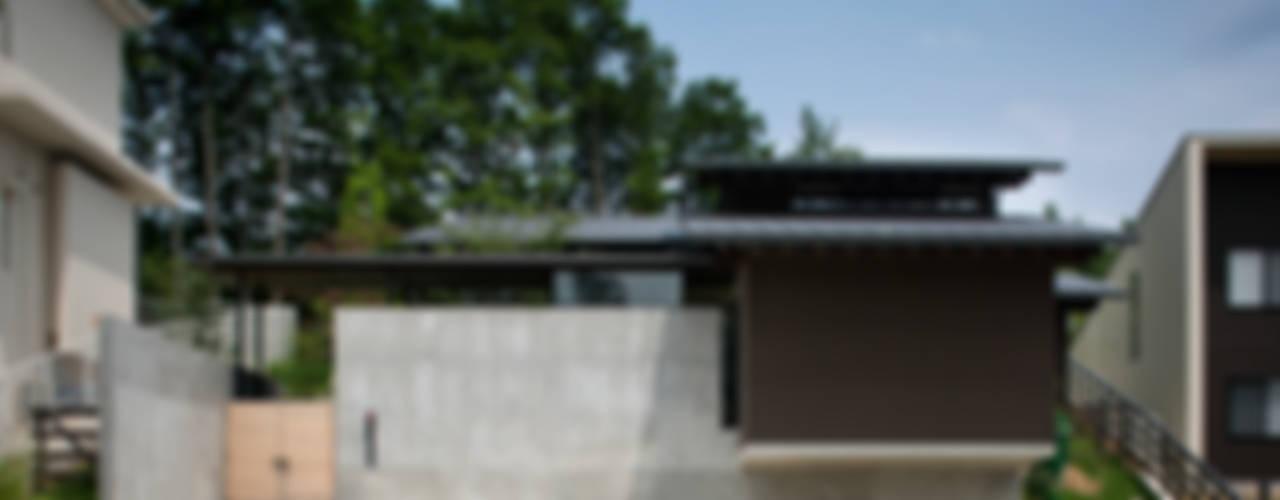House in Sayo モダンな 家 の 設計組織DNA モダン