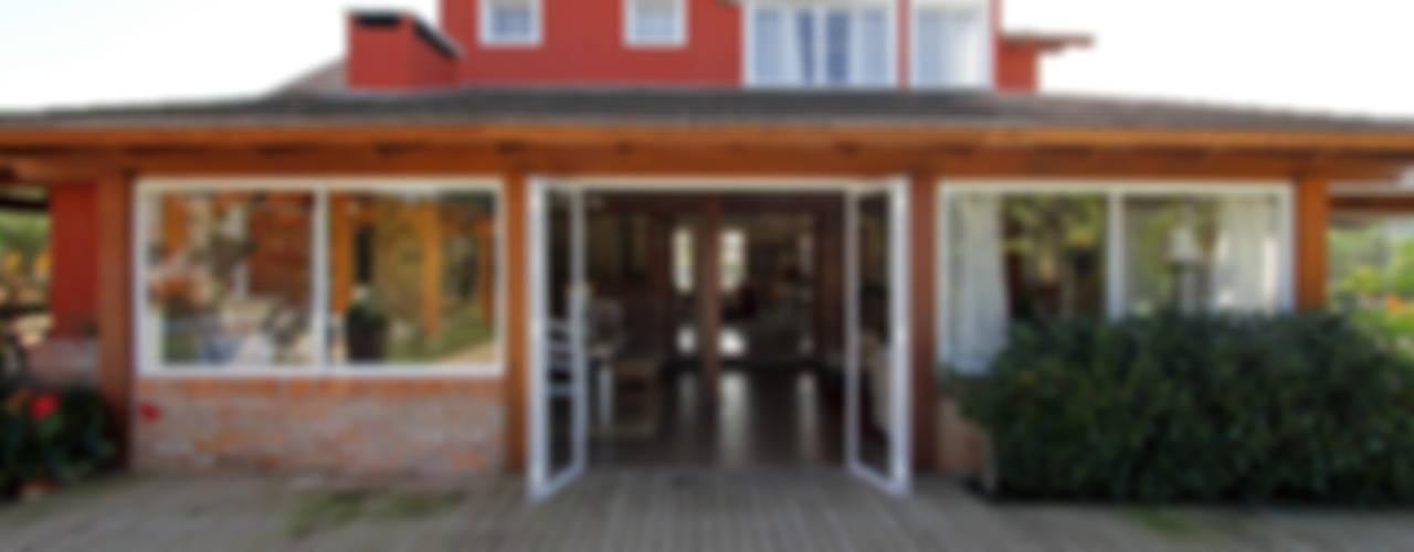 Casas rústicas de Graça Brenner Arquitetura e Interiores Rústico