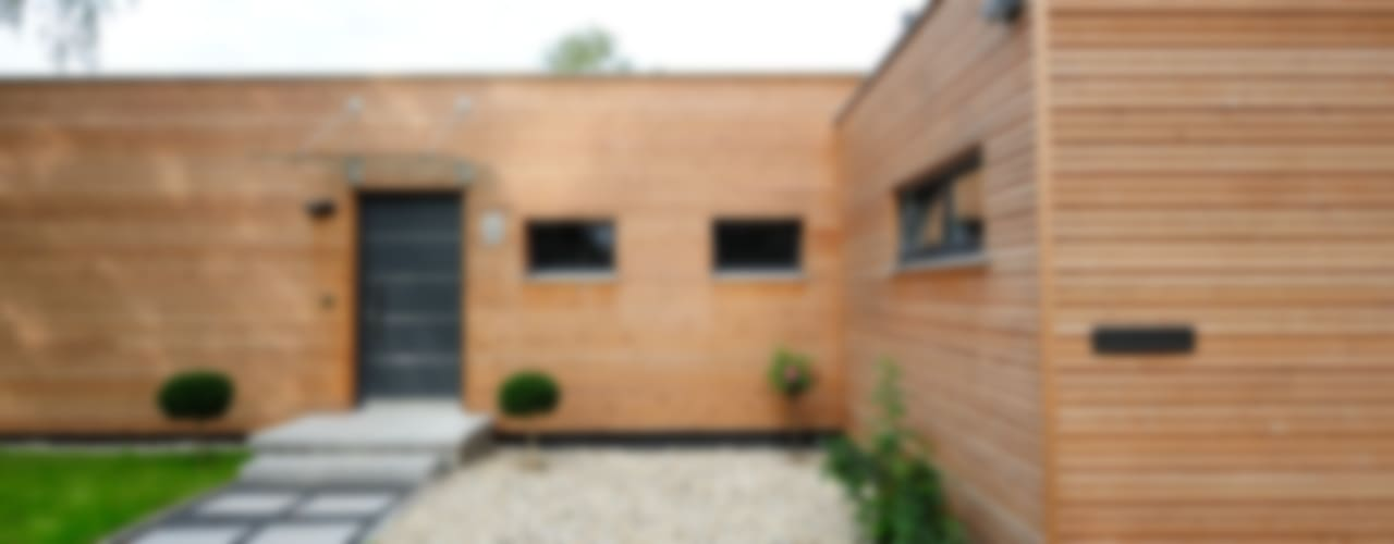 Nowoczesne domy od Bau-Fritz GmbH & Co. KG Nowoczesny
