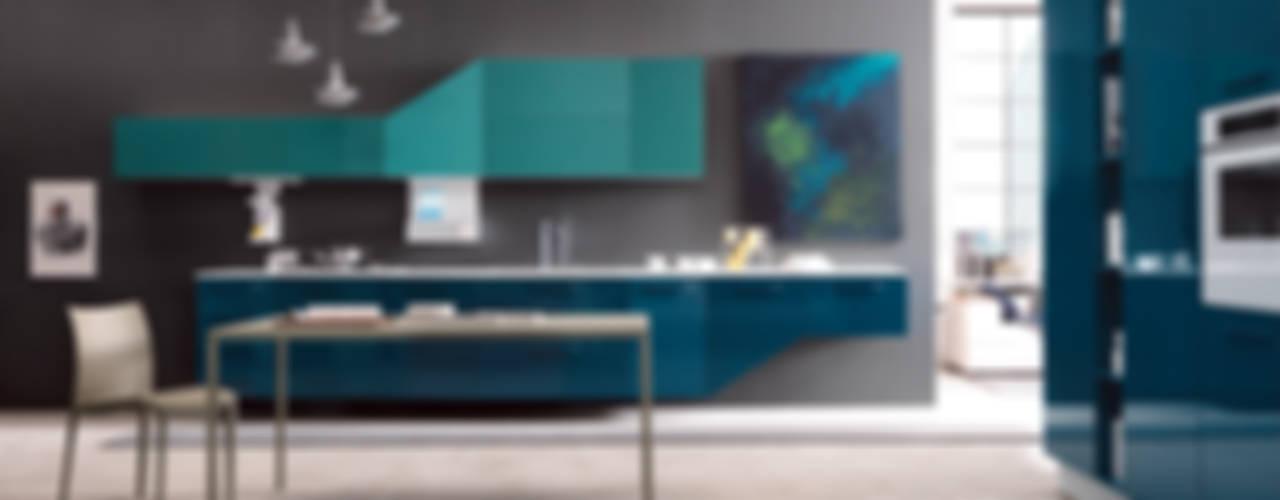Alicante Cucina moderna di Matteo Beraldi Design Office Moderno