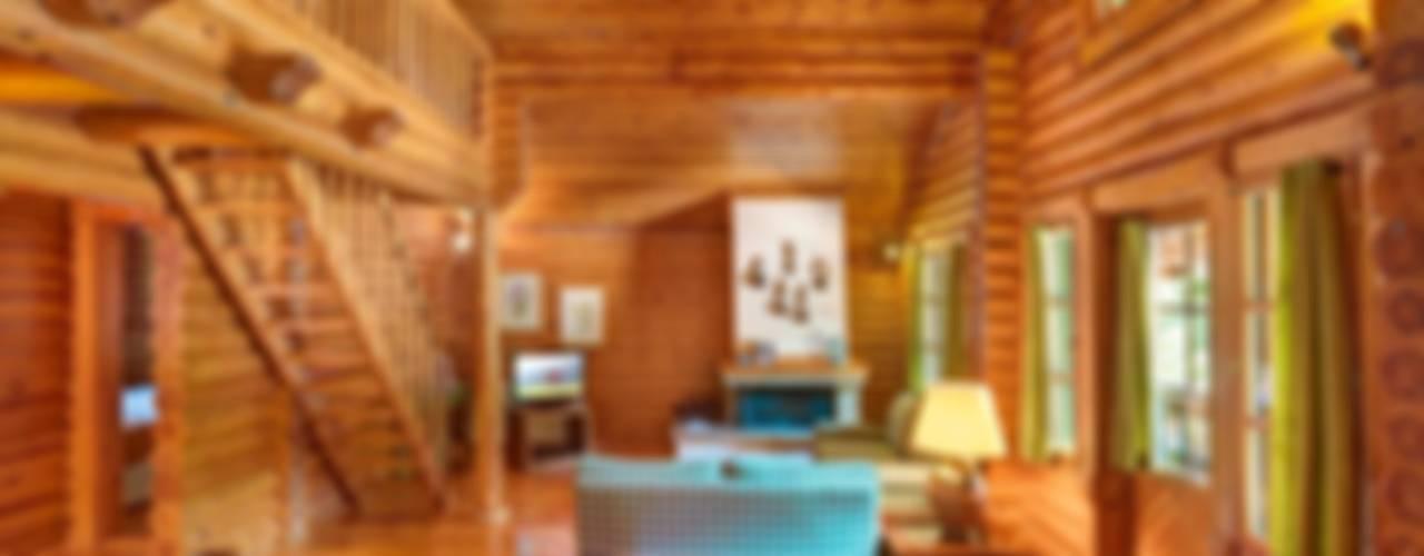 Elatos Resort & Health Club por studioReskos Rústico