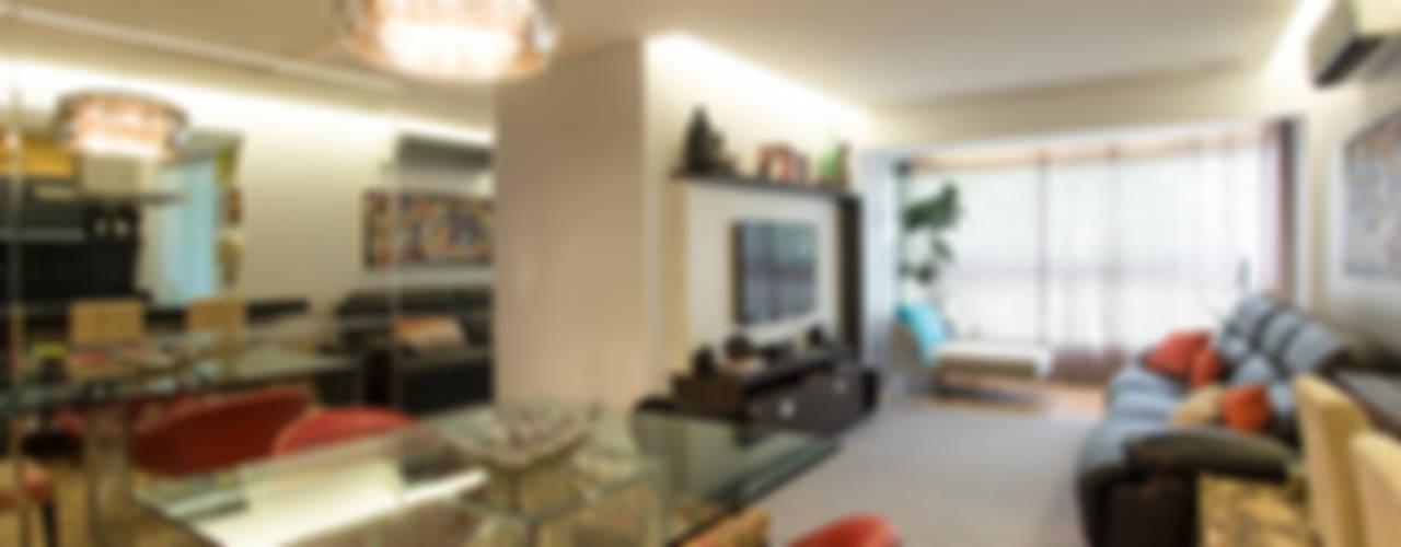 Apartamento para Finais de Semana Casas modernas por Rico Mendonça Moderno