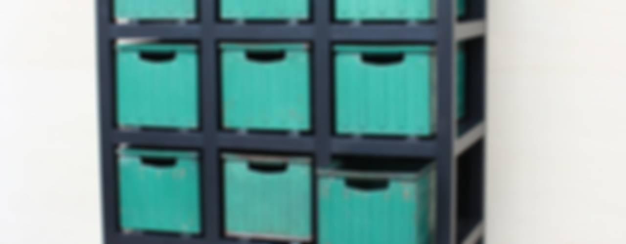 MAKE IT - Cassettiera Macrit - Materie Creative Italiane Camera da lettoArmadi & Cassettiere Metallo Verde