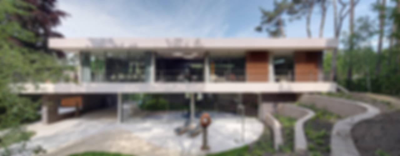 Dune villa Jardins modernos por HILBERINKBOSCH architecten Moderno