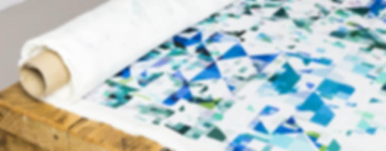 Northmore Minor- Teal fabric de Flock