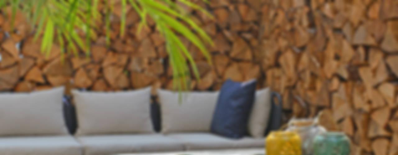 Terrazas de estilo  por Kristina Steinmetz Design, Mediterráneo