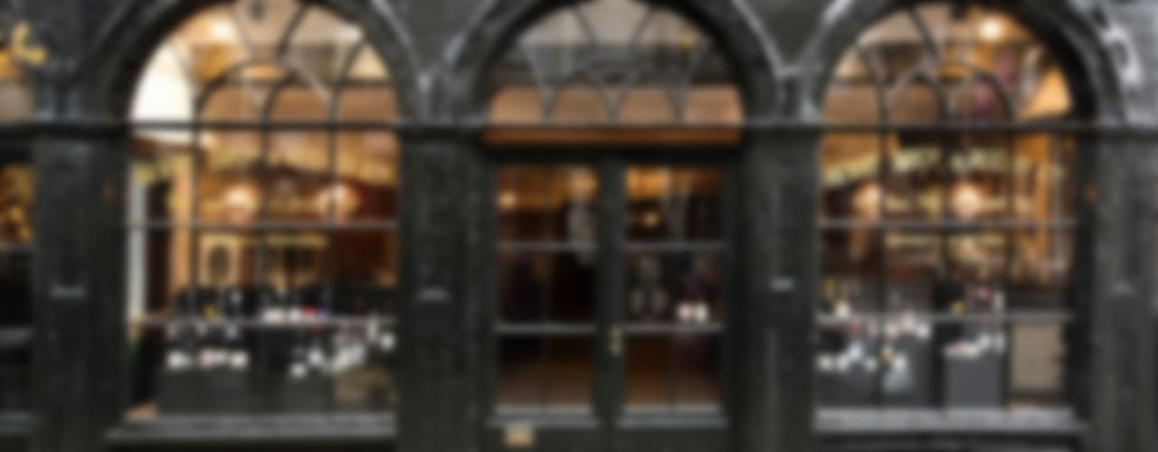 Berry Bros. & Rudd London Moderne kantoor- & winkelruimten van Mowat & Company Ltd Modern