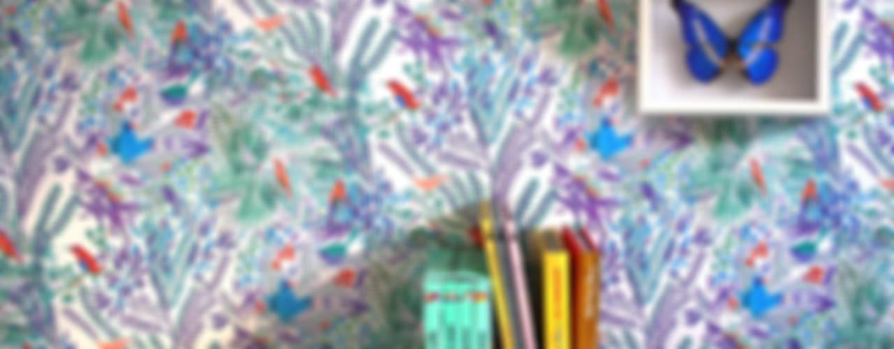 Papier-peint par Little Cabari Éclectique