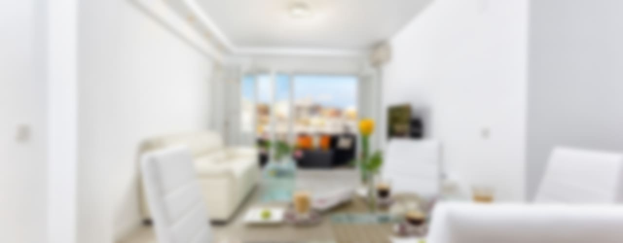 Moderne Wohnzimmer von Espacios y Luz Fotografía Modern